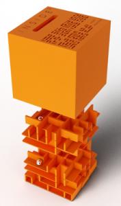 Une vue éclatée du cube MEAN PHANTOM.